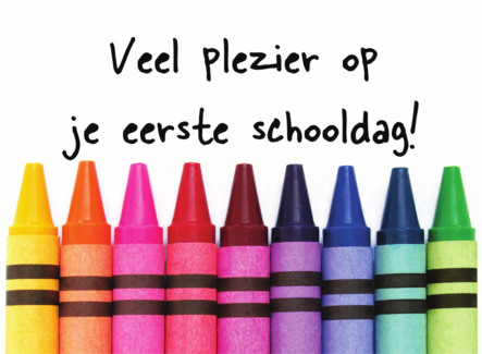 Start Nieuwe Schooljaar